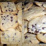 recette COOKIES AUX PEPITES DE CHOCOLAT