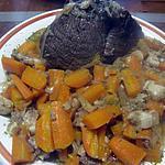 recette Aiguillette de boeuf à braisser aux carottes.