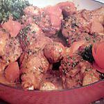 recette Poulet sauté grenoblois