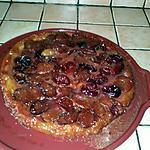 recette Tarte tatin aux prunes