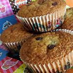 Muffins au yaourt et pépites chocolaté