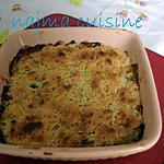 recette gratin de courgettes