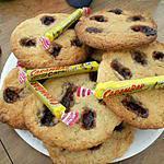 recette Cookies éclats de Carambar