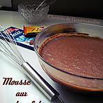 recette Mousse aux 2 chocolats