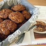 recette Cookies coco et deux chocolats