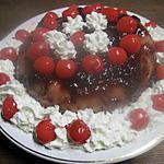recette Gâteau aux griottes au micro-ondes.