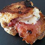 recette Cordon bleu au jambon fumé et roquefort