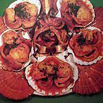 recette Coquilles St Jacques, étrilles et seiches ou calamars