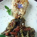 recette Filets de limande à la sauce tomates et oseille.
