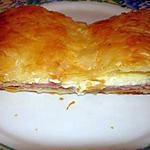 recette Chausson au jambon et au boursin