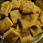 recette Carrés aux pommes