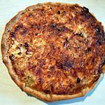 recette Quiche aux lardons, champignons et emmental