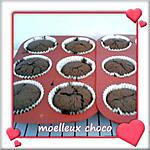 recette muffins coeur coulant