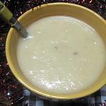 recette Soupe de radis noir et poitrine fraiche.