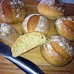 recette Petits pain à la farine de blé dur