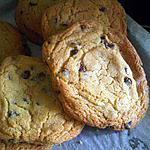 recette COOKIES CHOCOLAT NOIR
