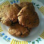 recette COOKIES PROTEINE VANILLE / PISTACHE