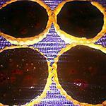 recette Tartelette chocolat framboise