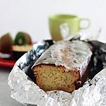 recette Cake glacé lemon curd, pavot