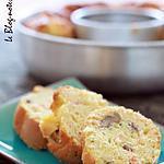 recette Cake au saumon fumé, châtaignes et citron