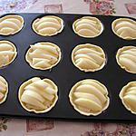 recette Tartelette gorgonzola et poire