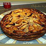 recette Clafoutis de pommes aux carambars