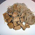 recette escalopes de dindonneau sucré /salé
