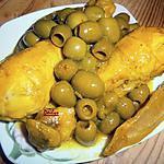 recette Poulet Aux Olives Et Citron Confit