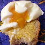 recette Tartine dijonnaise d'oeuf mollet