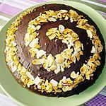 recette Gâteau Chocolat Tourbillon D'Amande Effilée