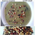 recette Soupe aux courgettes... avec encore un peu de soleil dans l'assiette (86)