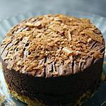 Gâteau croquant et moelleux à la fois au chocolat