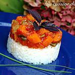 recette Duo de légumes et riz