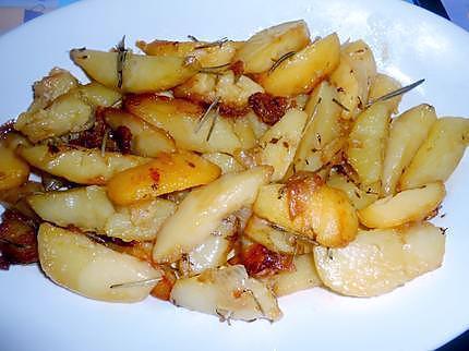 Pommes de terre thym romarin 430