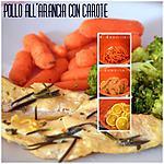 recette Poulet à l'orange avec carottes baby SANS MAITIERES GRAISSES!!