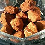 recette Truffe au chocolat! noel