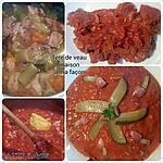 recette Tête de veau maison...  façon la tite,  sans tête ni gelée (97)