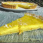 recette Tarte à la ricotta et à l'orange