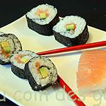 recette Makis/Sushis