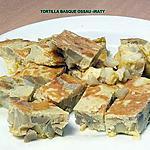 recette TORTILLA BASQUE OSSAU -IRATY