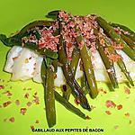 recette CABILLAUD AUX PEPITES DE BACON