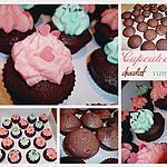 recette Cupcakes chocolat et glaçage vanille