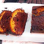 recette CAKE  CHOCOLAT CARAMEL