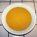 recette Soupe de légumes au potiron.