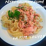 recette Pâtes au saumon fumé et chicons (endives) à la crème (95)