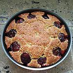 recette Gâteau prunes amandes