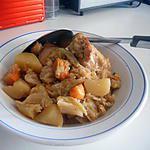 Potée choux patate douce