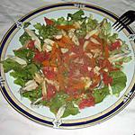 recette salade du blog de michéle croquant fondant
