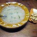recette Soupe aux navets.céleri. à la crème fraiche au micro-ondes.