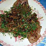 recette Foie de veau aux oignons